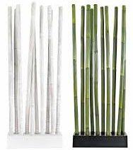 Separ in bamb officina del bamb for Canne di bambu per arredamento